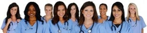Group Of Nurses