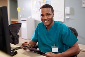 bigstock-Portrait-Of-Male-Nurse-Working-55983770
