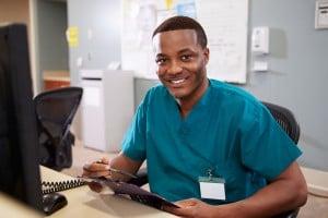 bigstock-Portrait-Of-Male-Nurse-Working-55983770